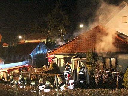 Der nächtliche Brand in Hollabrunn forderte ein Todesopfer