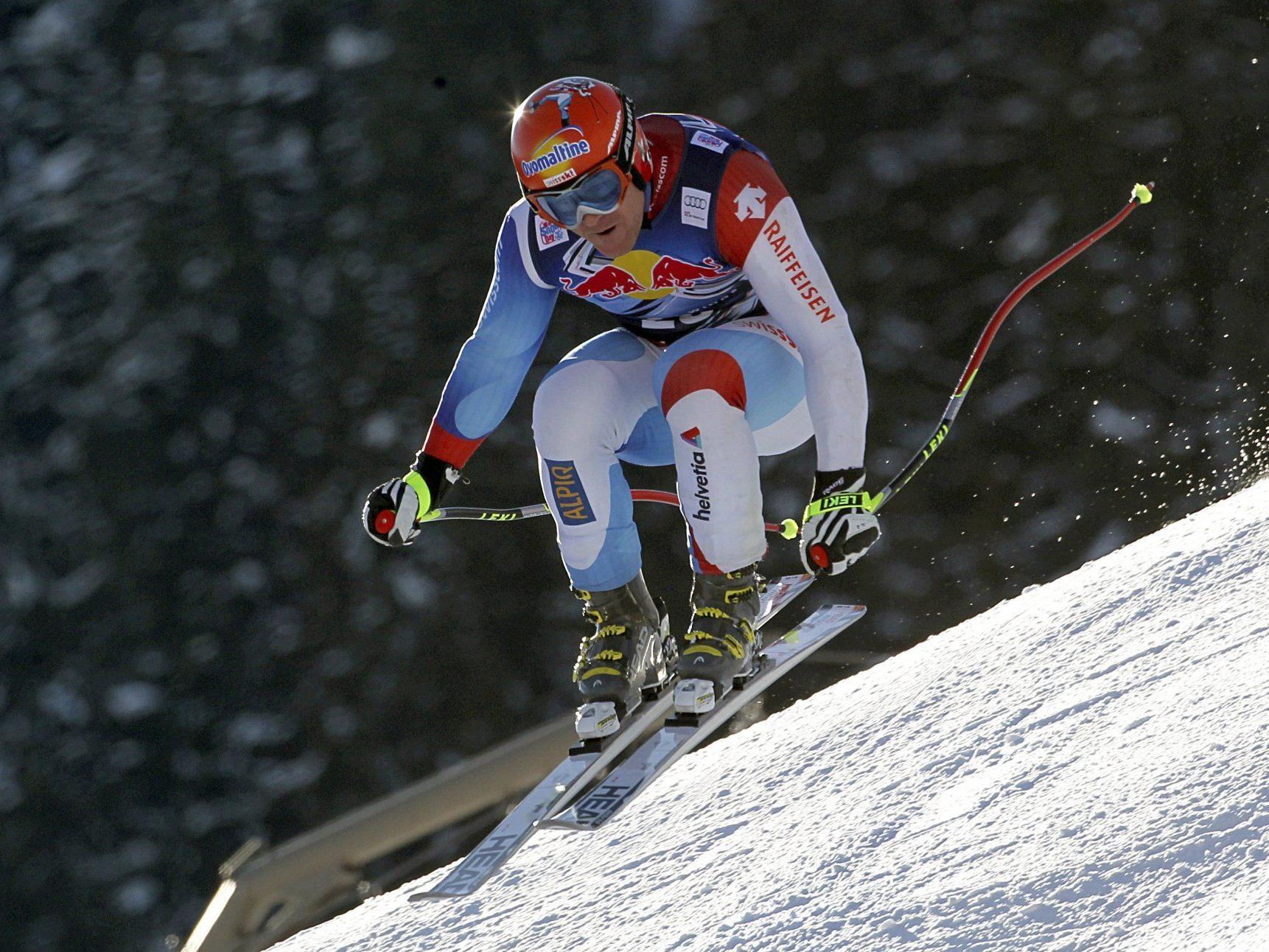 Der vierfache Streif-Sieger Didier Cuche zählt wieder zu den Favoriten in Kitzbühel.
