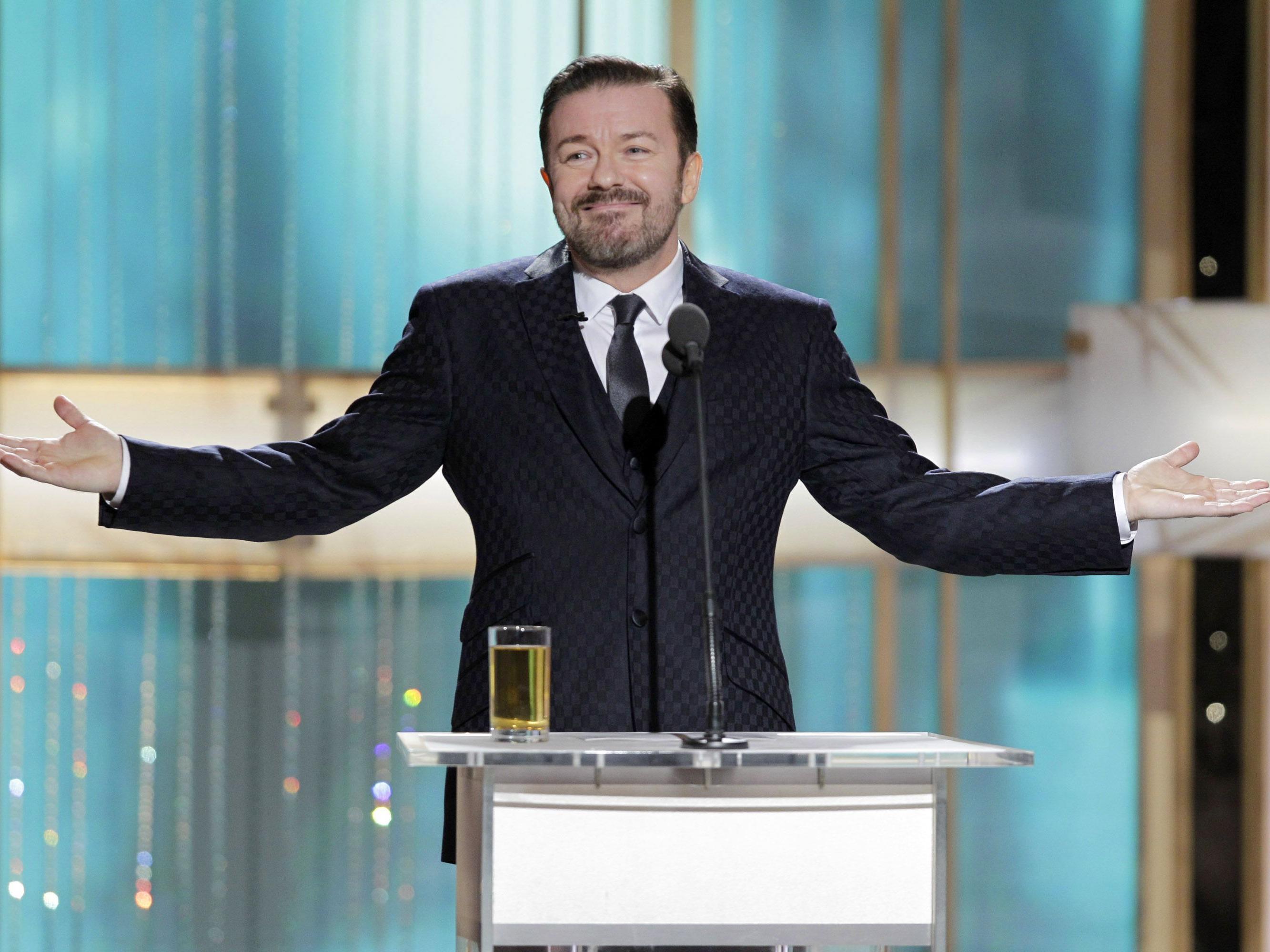 Das britische Allround-Taltent hat genug von den Golden Globes.