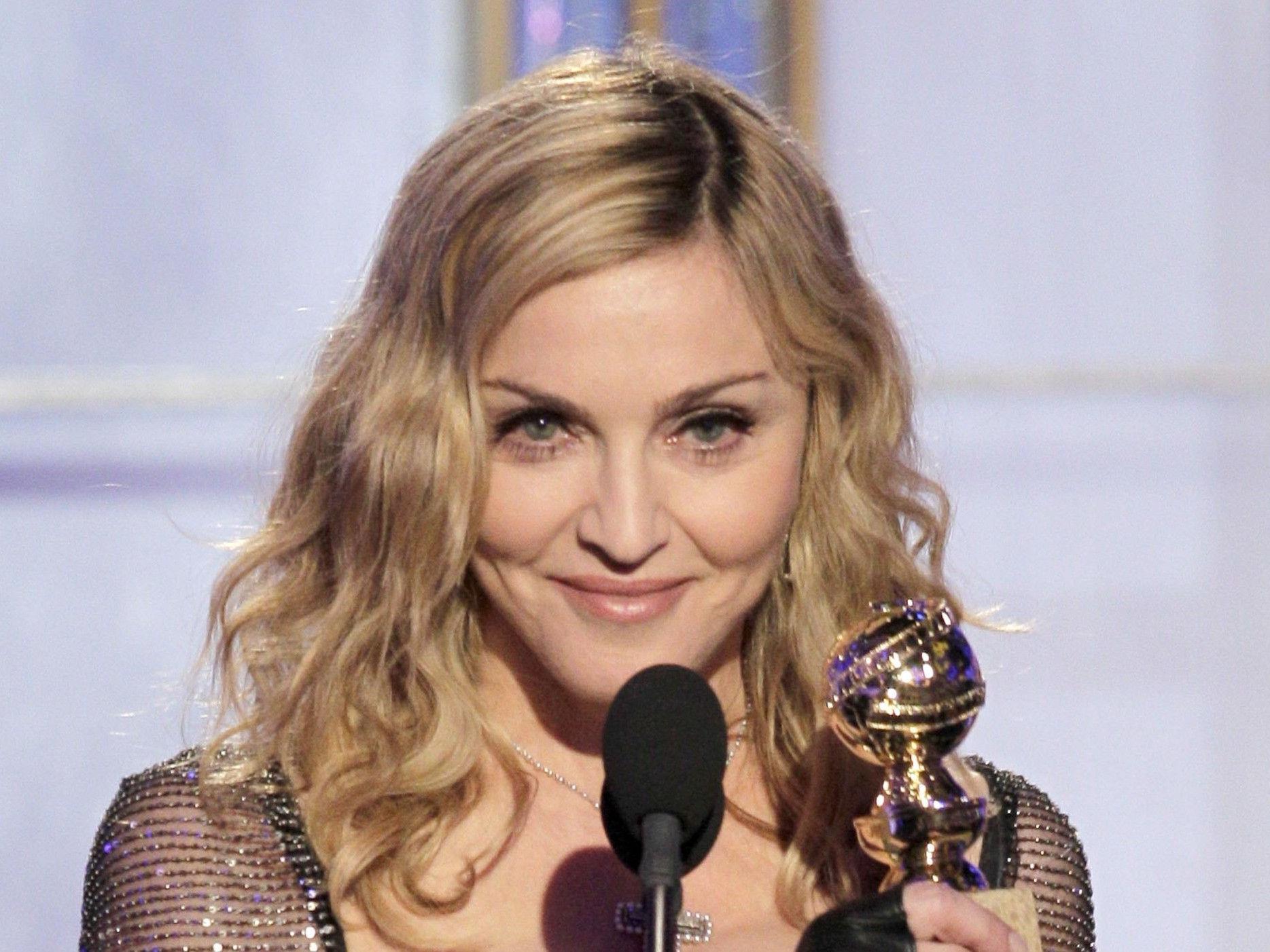 Madonna bei den 69. Golden Globes