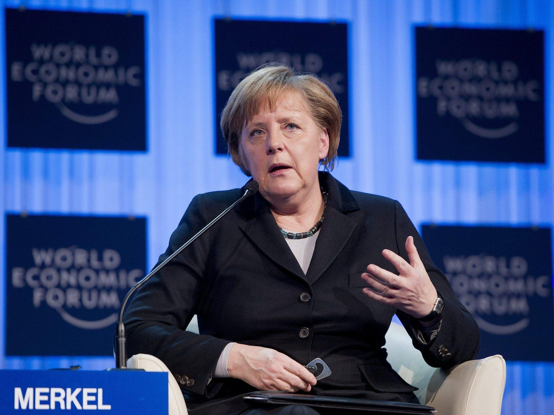 Angela Merkel warnt vor einer Überforderung Deutschlands.