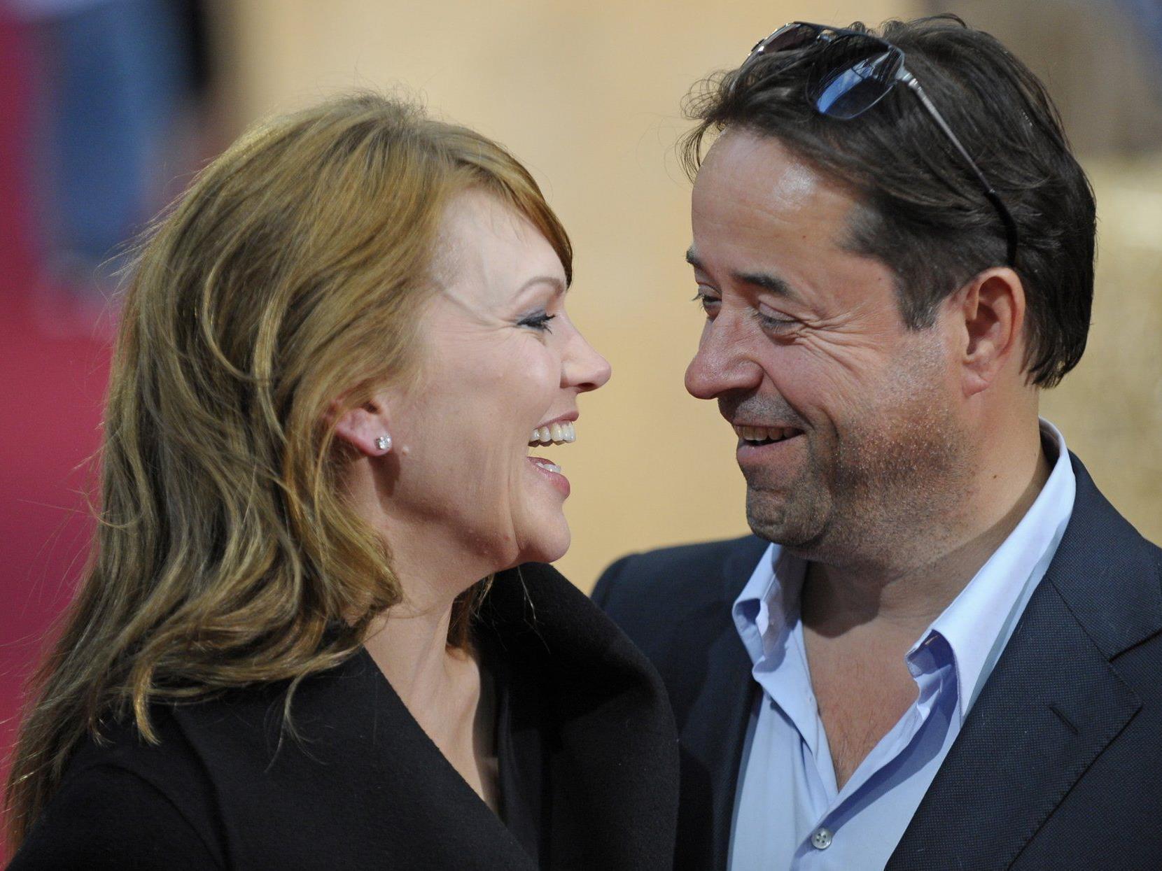Seit 2004 glücklich verheiratet - Anna Loos und Jan Josef Liefers.