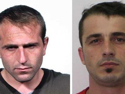 Diese beiden Männer aus Albanien sollen als Teil einer Bande Einbrüche in Wien begangen haben
