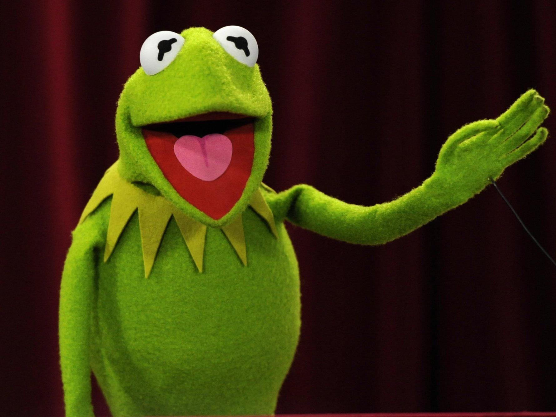 Kermit tut es den anderen amerikanischen Promis gleich. Er ist dem Fitness-Hype verfallen.