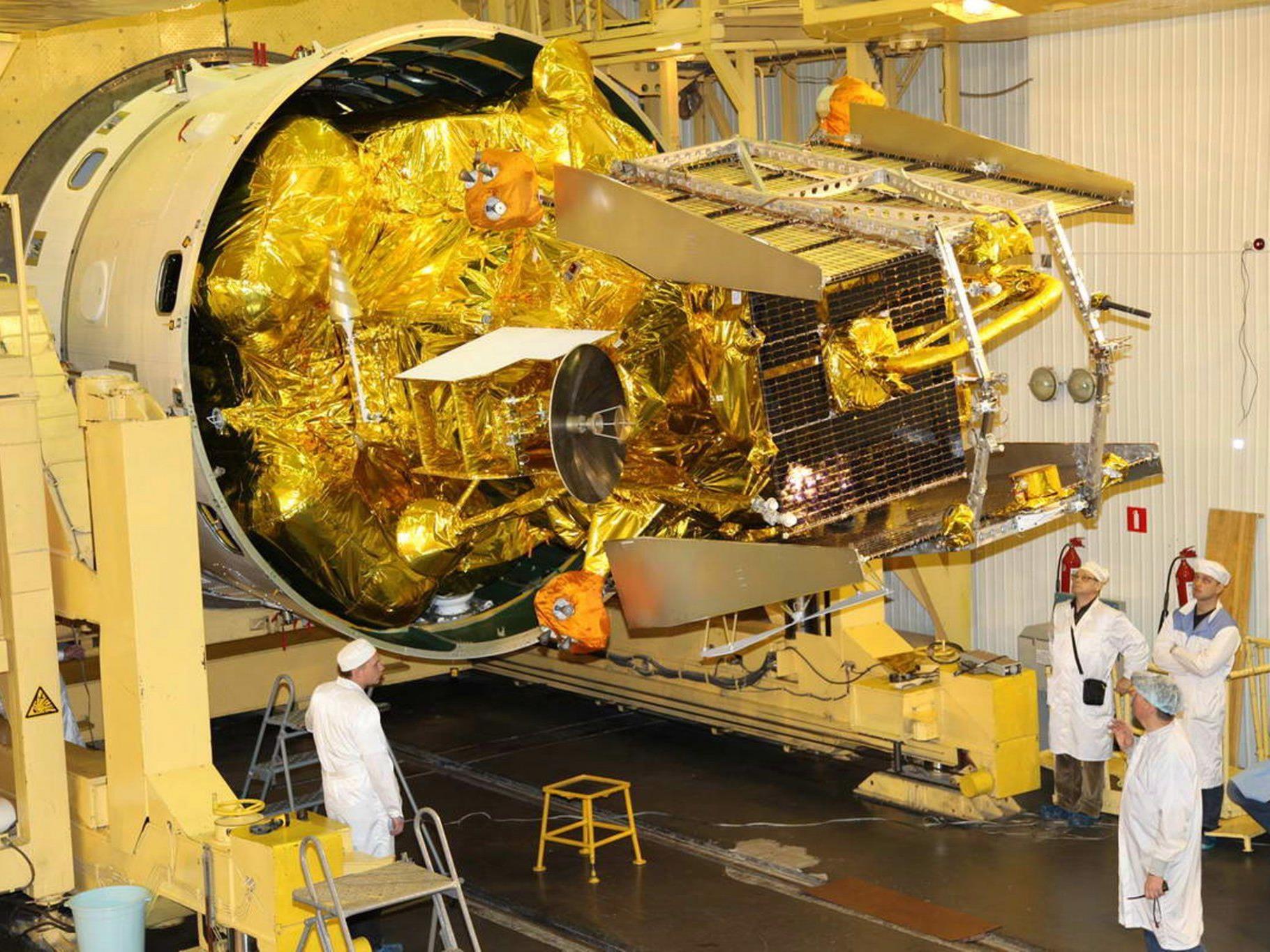 Russische Raumfahrtbehörde erwartet Reste von Phobos-Grunt am Sonntag.
