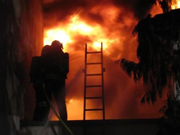 Sieben Feuerwehren waren beim Brand in Gänserndorf im Einsatz
