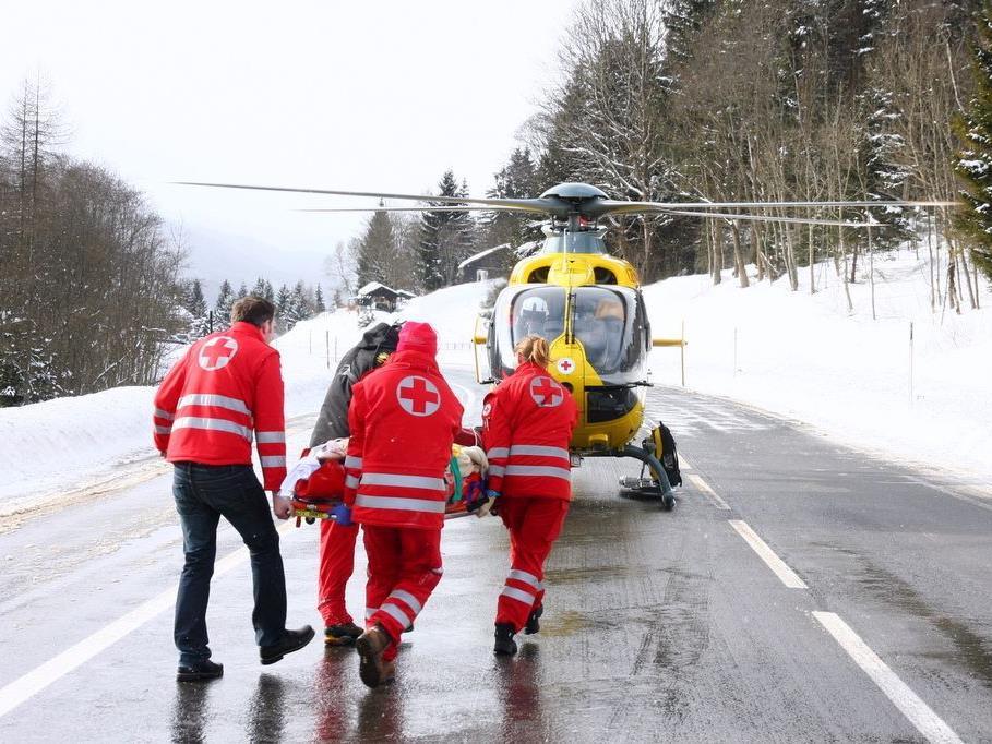 Die First Responder sind oft noch schneller am Ort des Geschehens als der Hubschrauber