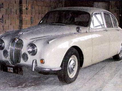 Dieser Jaguar wurde versehentlich als gestohlen gemeldet