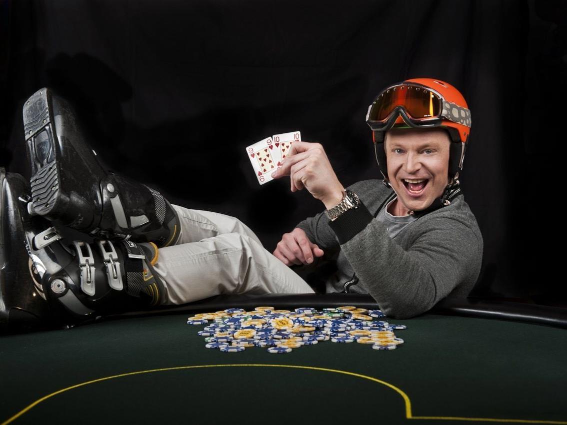 Johan Brolenius ist bereit für eine heiße Pokernacht.