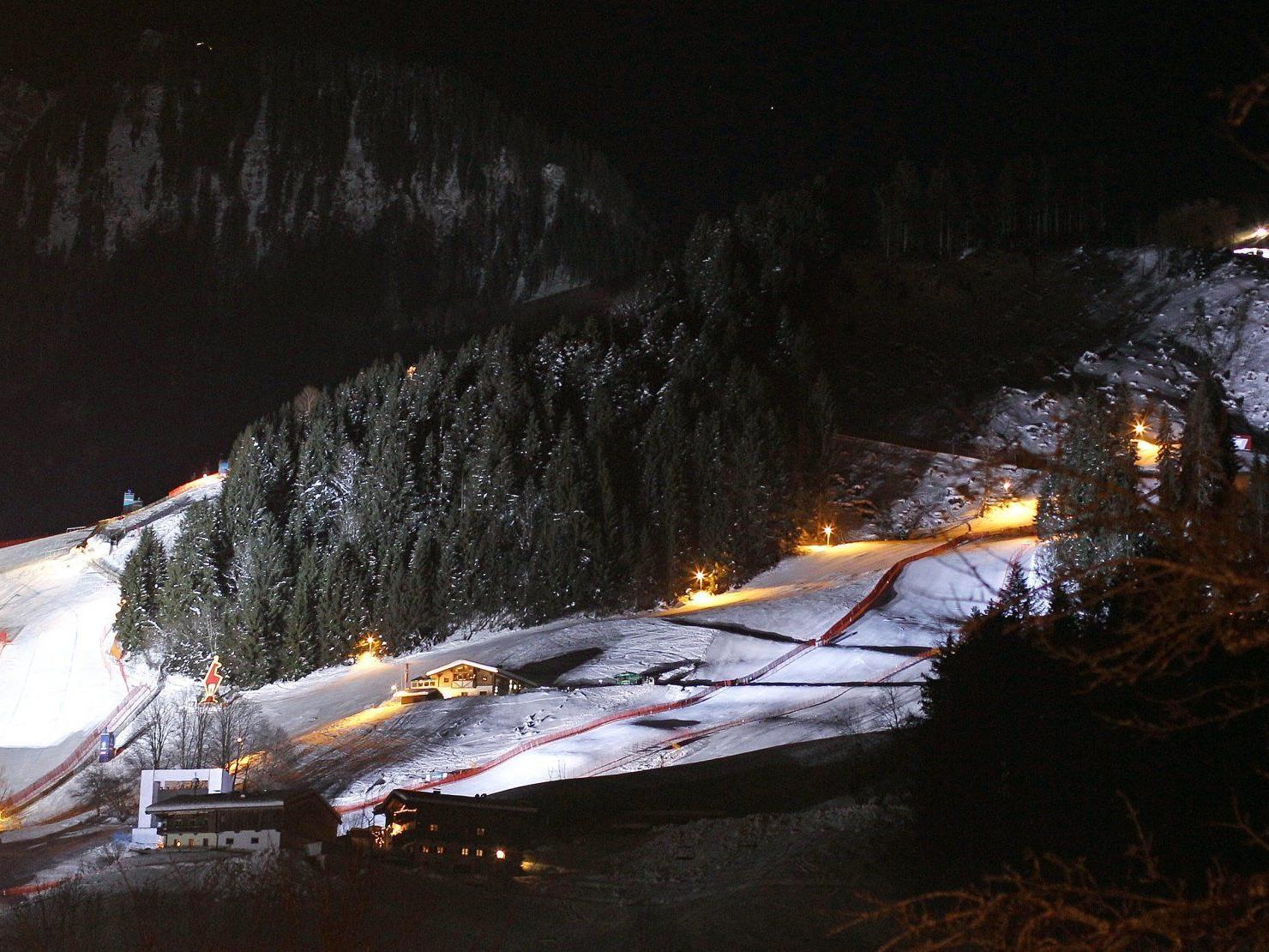 Noch herrscht in Kitzbühel Ruhe vor dem großen Ansturm.