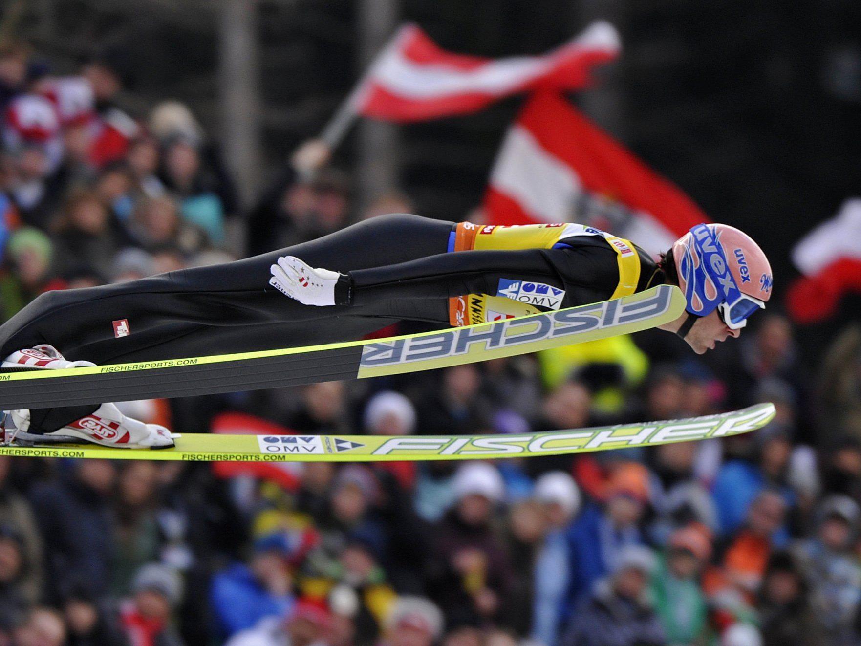 Für Andreas Kofler und die übrigen ÖSV-Adler wird der Skiflug-Tag etwas länger.