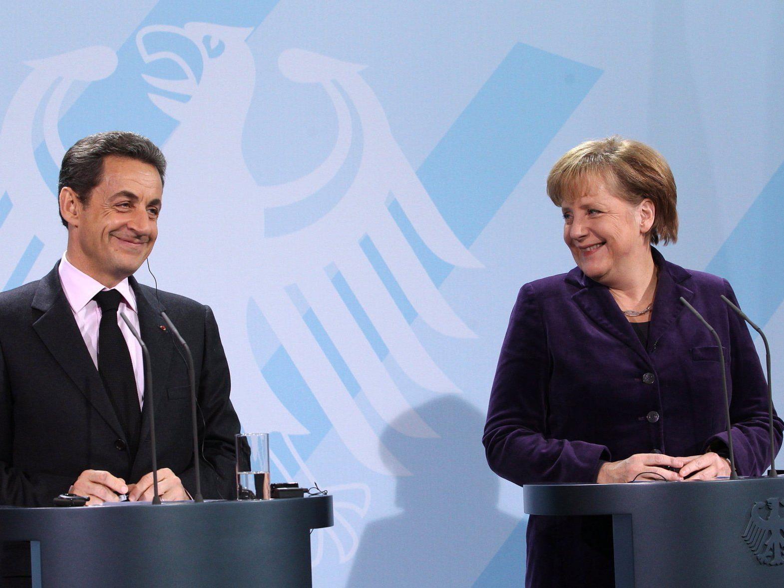 Deutschland und Frankreich ziehen beim Thema Finanzsteuer in Europa an einem Strang.