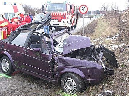 Der Unfall in Gerasdorf forderte ein Todesopfer