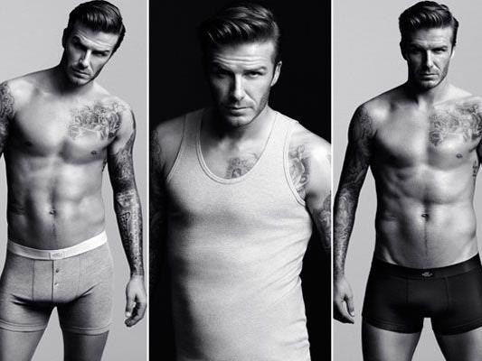 Für H&M ließ Beckham die Hüllen fallen