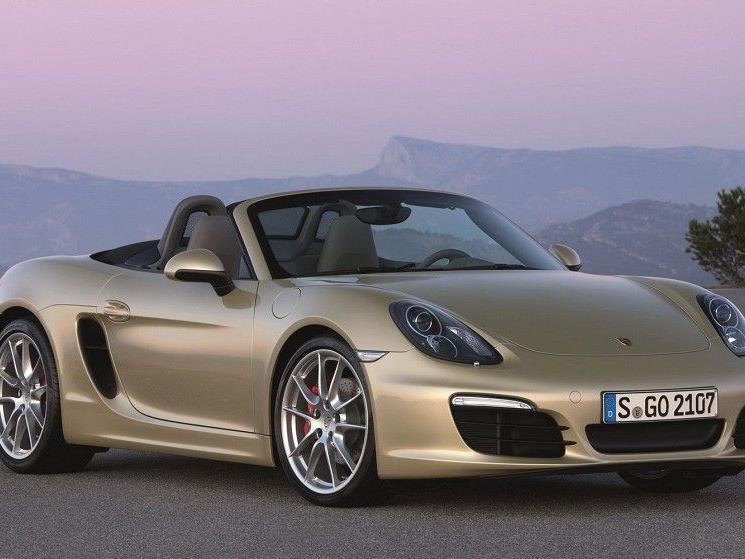 Der Porsche Boxster wird größer, schneller, breiter.