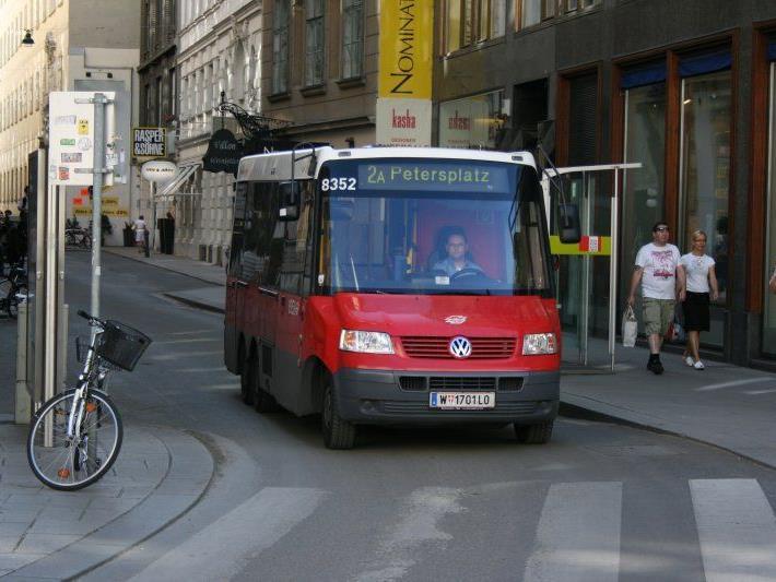Der beliebte City-Bus im Einsatz