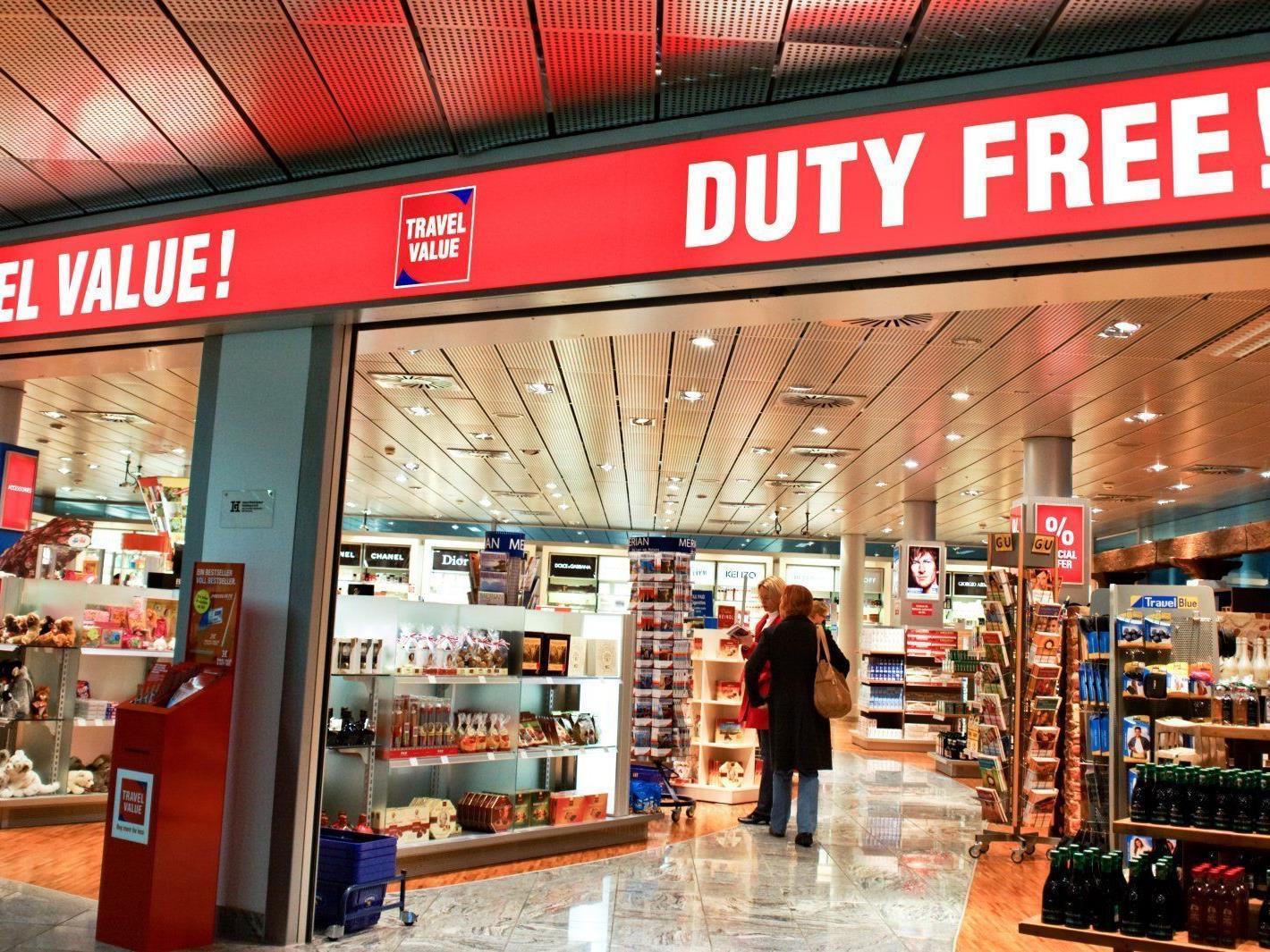 Duty-Free-Laden - der Preisvergleich lohnt!