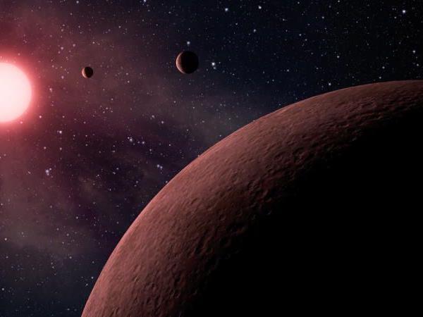 Kepler auf der Suche nach Exoplaneten - Anfang Jänner entdeckte das Weltraumteleskop die drei kleinsten Exoplaneten