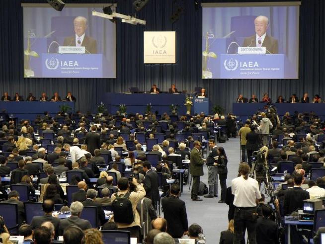 Auch die internationale Atomenergiebehörde ist Stammgast im ACV
