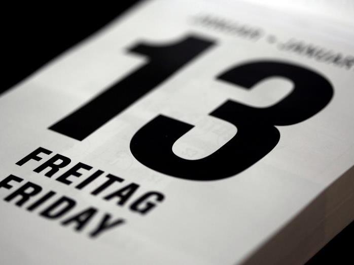 Wenn ein Freitag auf den 13. eines Monats fällt, assoziiert der Aberglaube damit einen Tag voller Pleiten, Pech und Pannen.