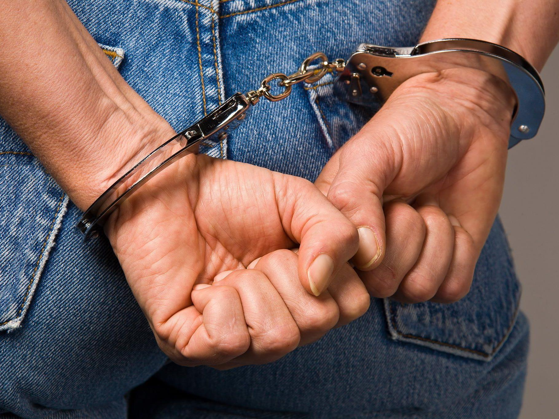 Widerstandslos ließ sich der Mann verhaften.