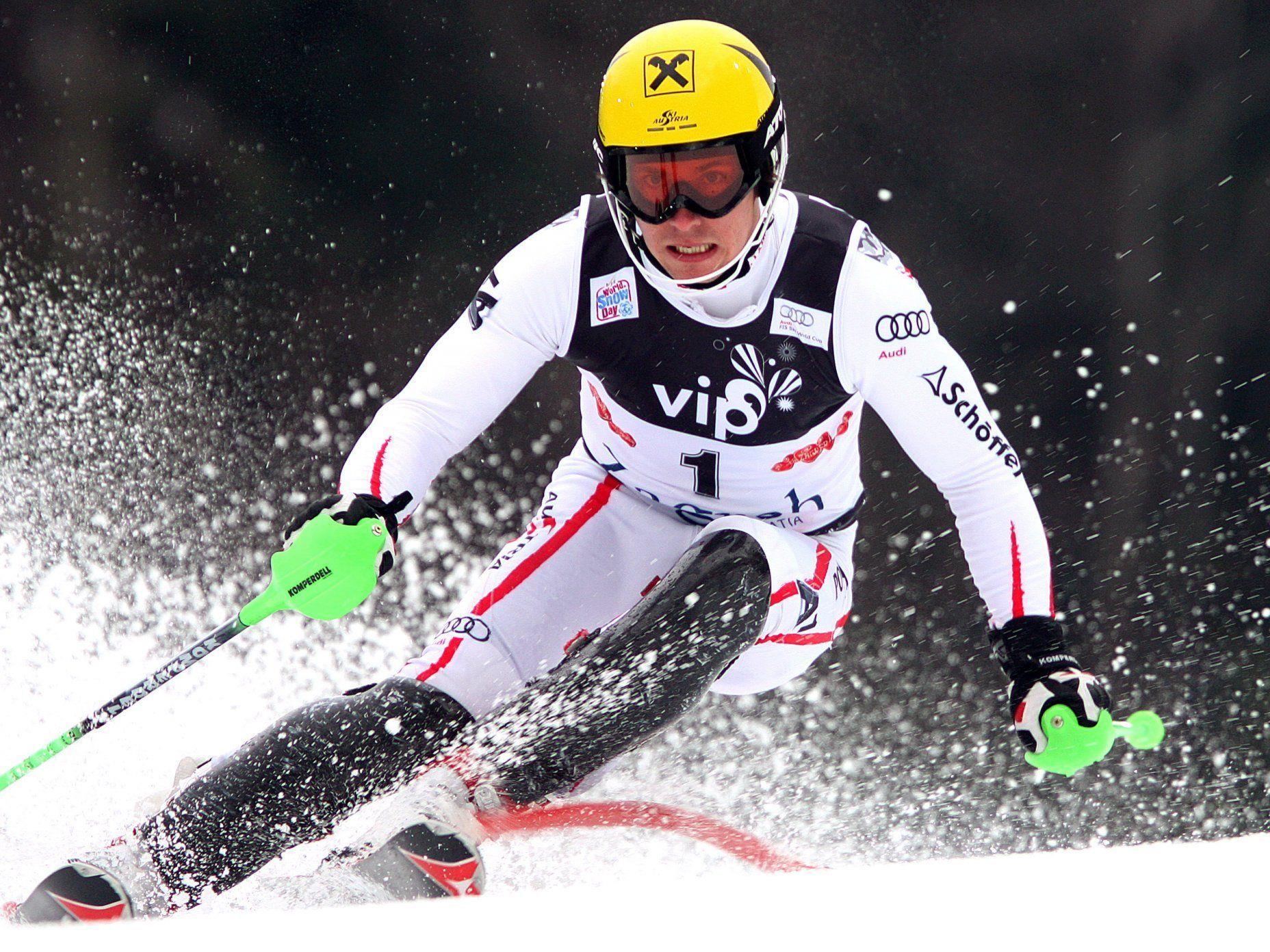 Hirscher nach Slalom-Sieg in Zagreb Weltcup-Führender.