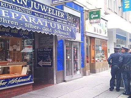 Im Juli kam es bei einem Juwelier in Wien-Margareten zu einer Schießerei.