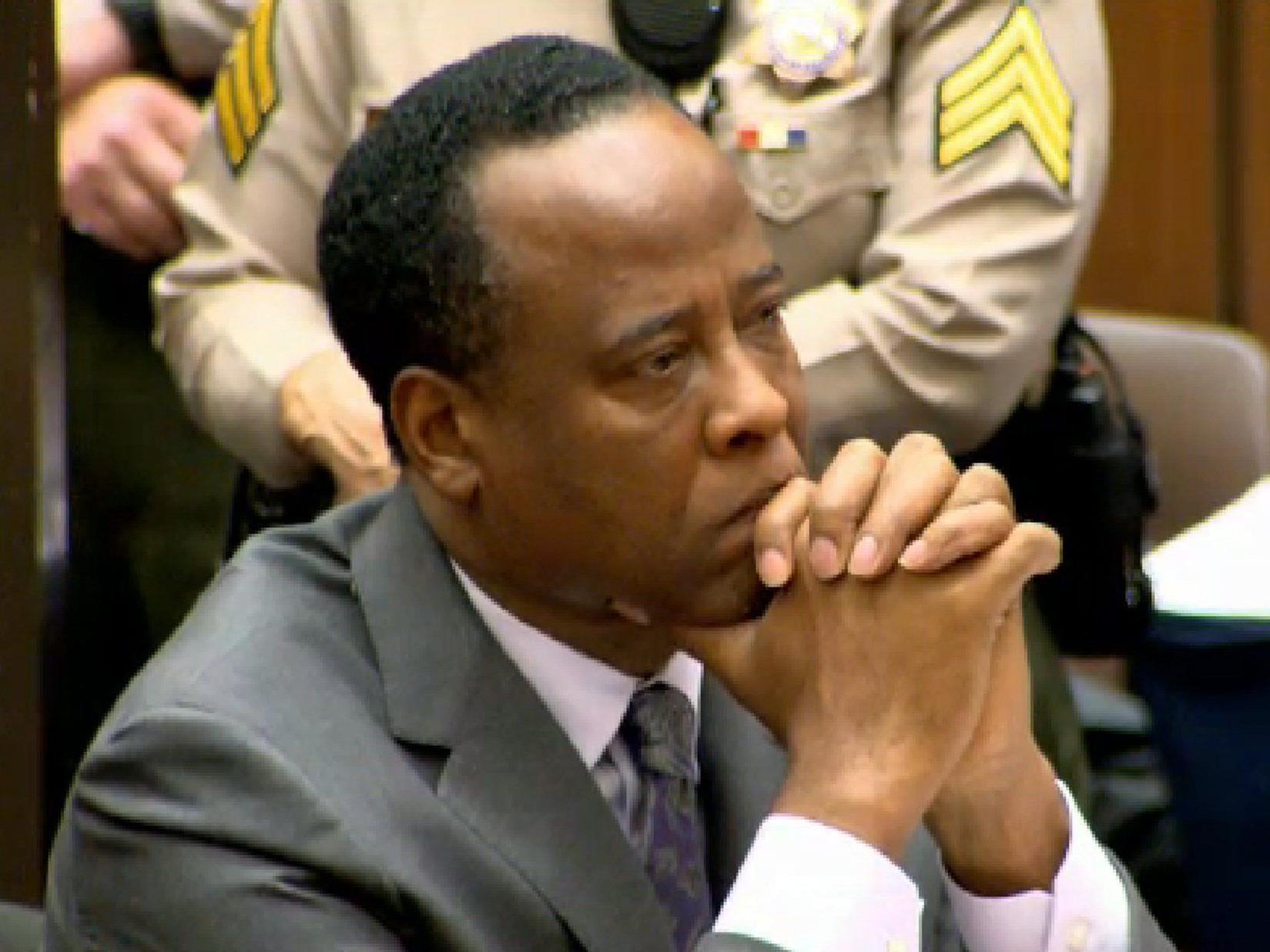 Conrad Murray wurde im November vergangenen Jahres wegen fahrlässiger Tötung verurteilt.
