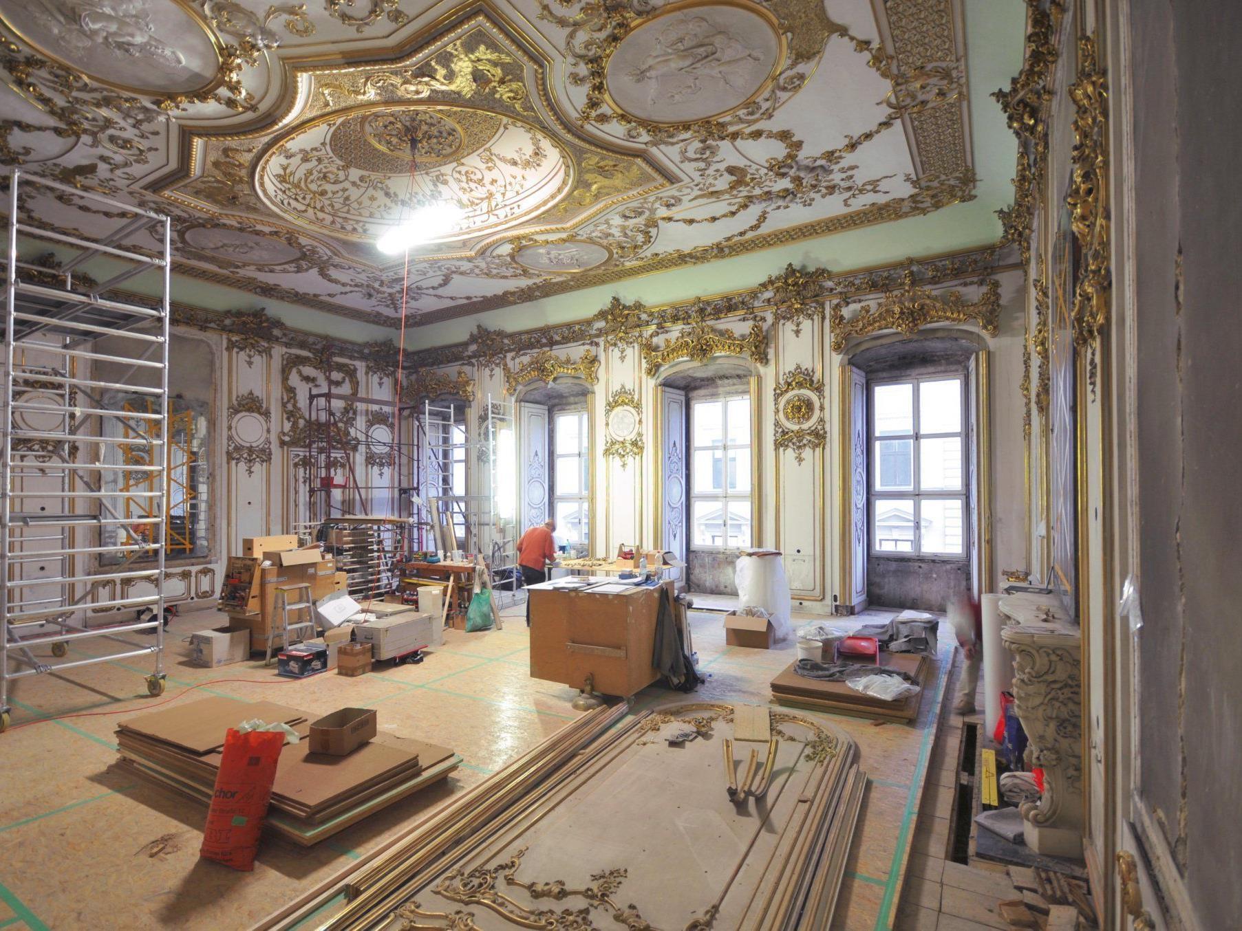 So sieht das Palais Liechtenstein von innen aus.