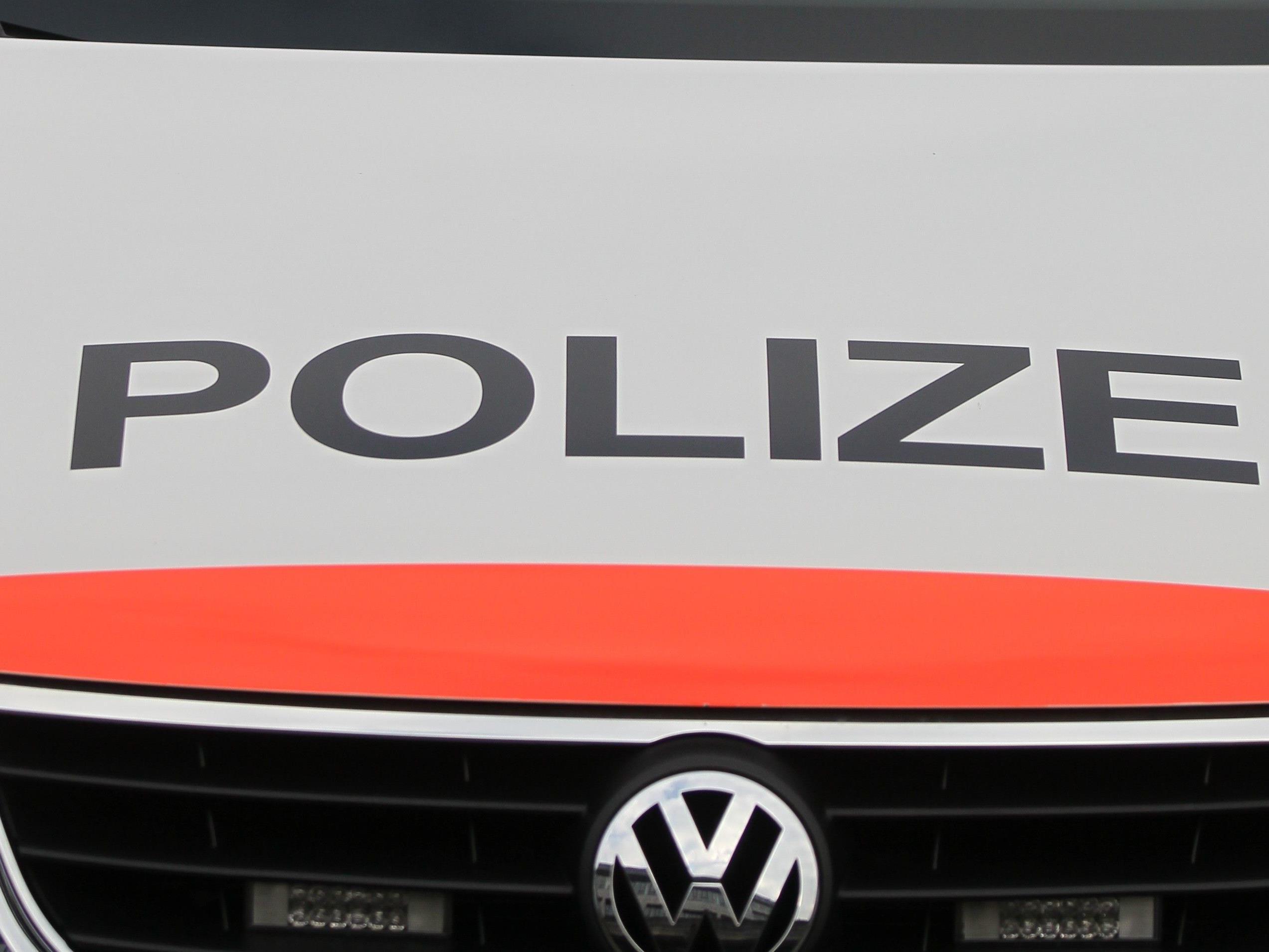 Die Polizei konnte die beiden Kontrahenten stoppen.
