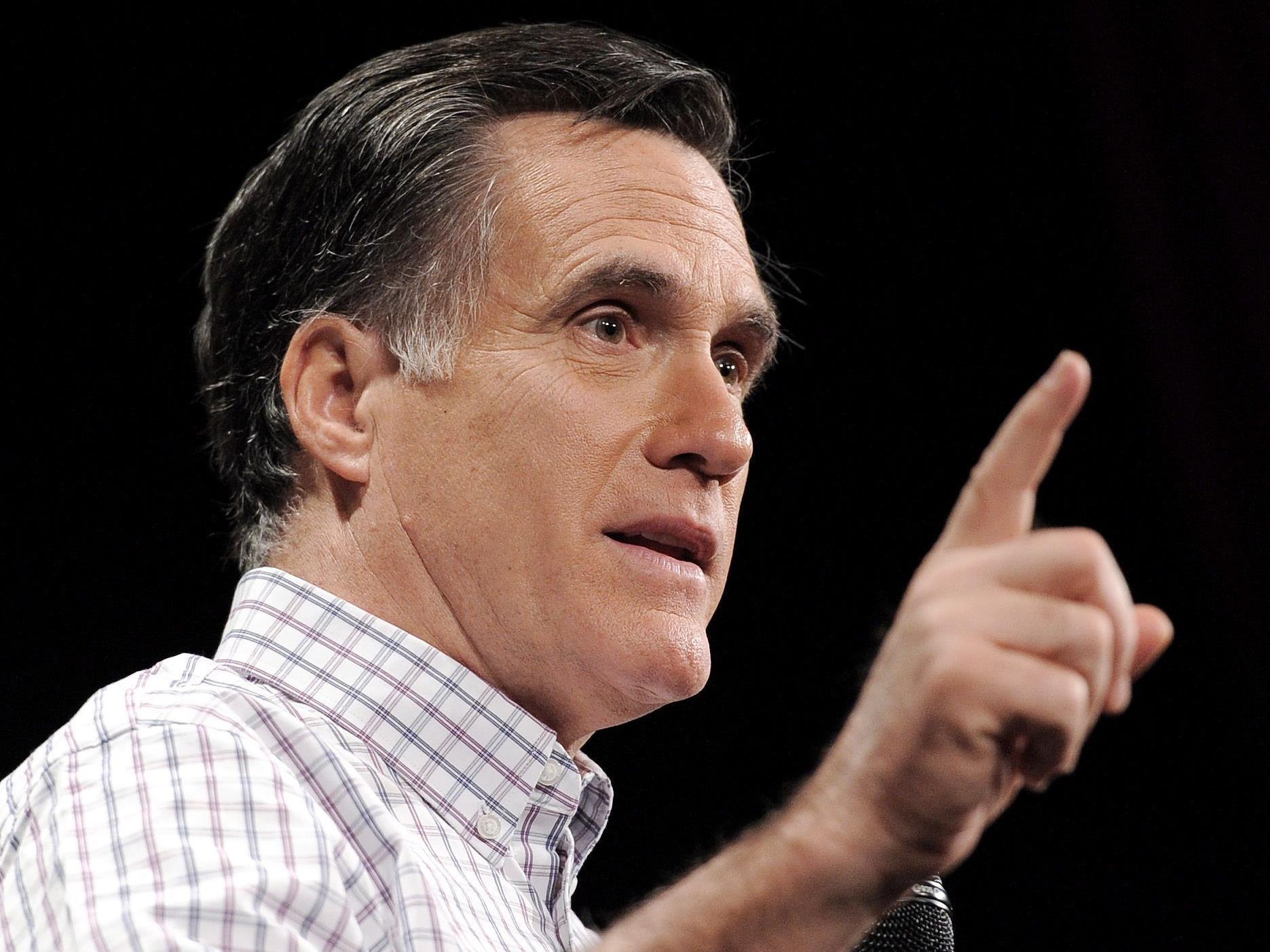 Meinungsforscher sehen Romney in New Hampshire rund 20 Prozentpunkte vor seinen Mitbewerbern.