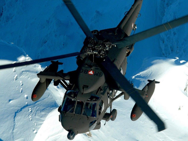 Auch ein Bundesheer-Hubschrauber wurde bereits angefordert.