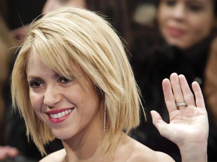 Shakira trägt jetzt auch einen Bob.