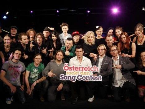 Österreich startet im ersten Semifinale beim Eurovision Song Contest 2012.