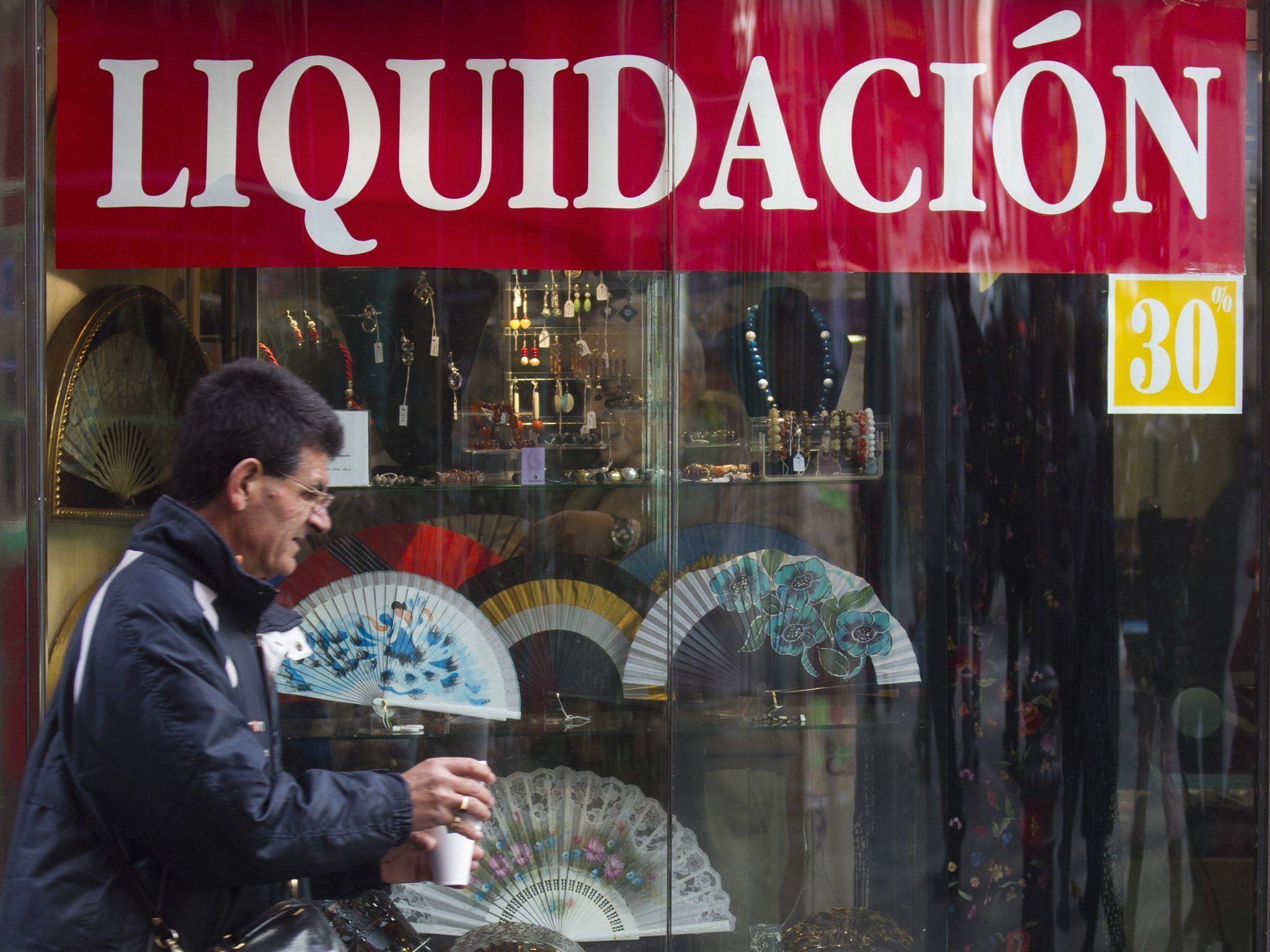 Spanien steckt womöglich bereits in der Rezession.
