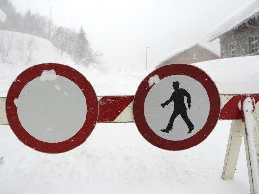 Nach wie vor Lawinengefahr in Österreich