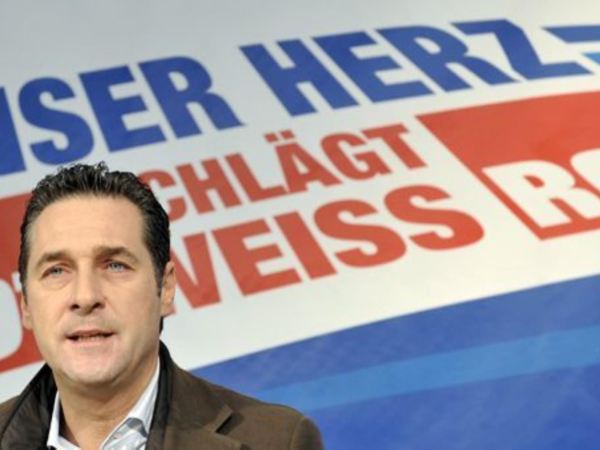 Hein-Christian Strache wird sich auch in Zukunft für den WKR-Ball einsetzen.