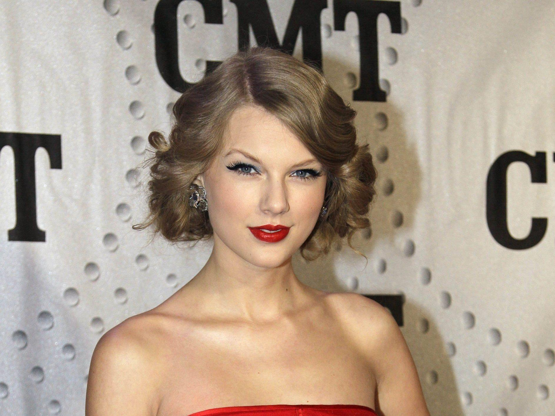 Country-Sternchen Taylor Swift singt den Liebeskummer einfach weg.