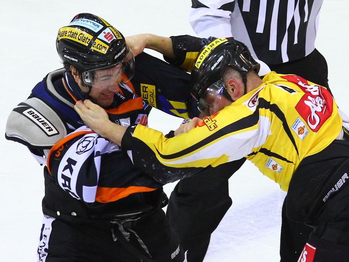 Die Vienna Capitals schlitterten gegen die Graz 99ers in ein Debakel.