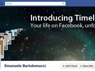 """Bald Pflicht: Die """"Timeline"""" auf Facebook."""