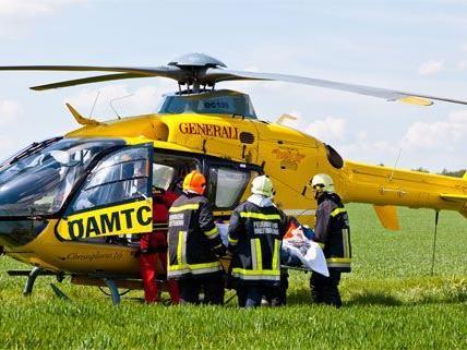 Der 78-Jährige aus Wien wurde bei dem Unfall schwer verletzt.