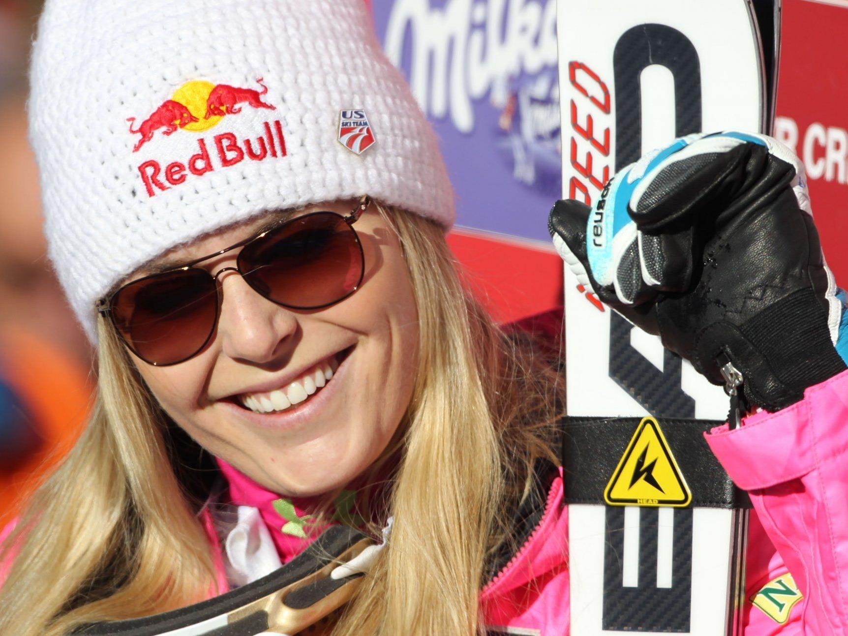 Vonn auch in St. Moritz nicht zu schlagen