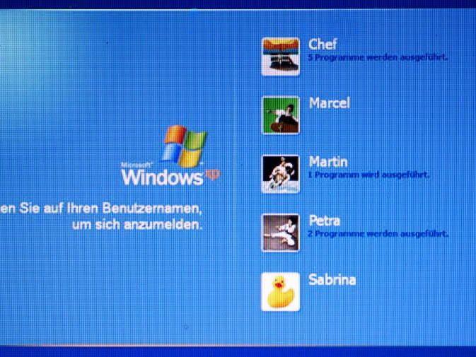 34,9 Prozent verwendeten neues Betriebssystem, XP läuft noch bei 31,8 Prozent