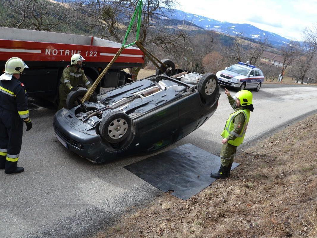 Zum Glück nur Blechschaden beim Crash in Edlitz