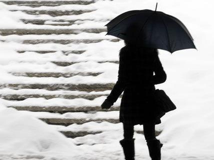 Schneesturm-Warnung in Wien und Umgebung