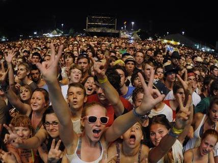 Das Frequency Festival ist heuer wieder im Green Park in St. Pölten