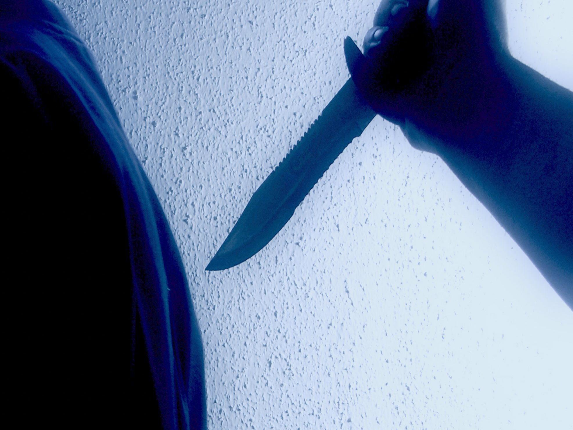 Räuber bedrohten das Opfer mit einem Messer