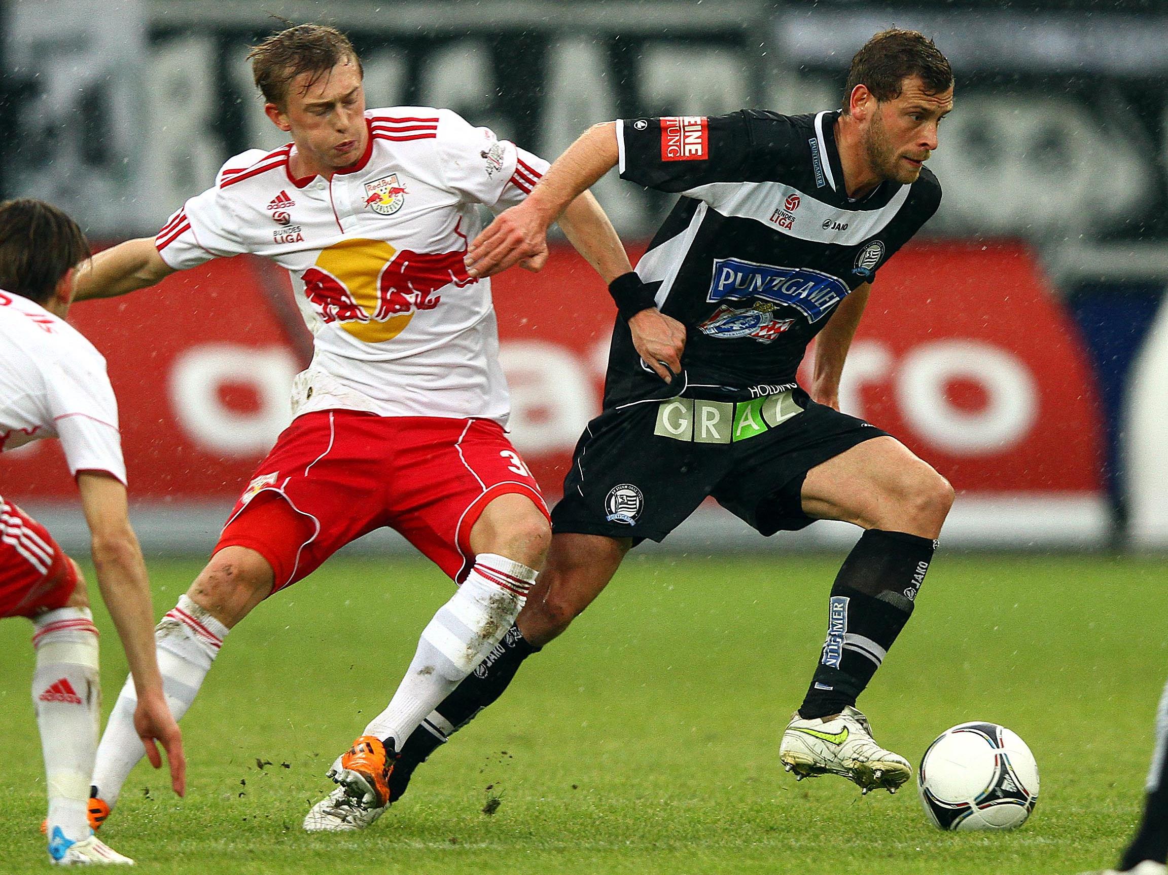 Torlos ging die Partie Red Bull Salzburg-Sturm Graz über die Bühne.