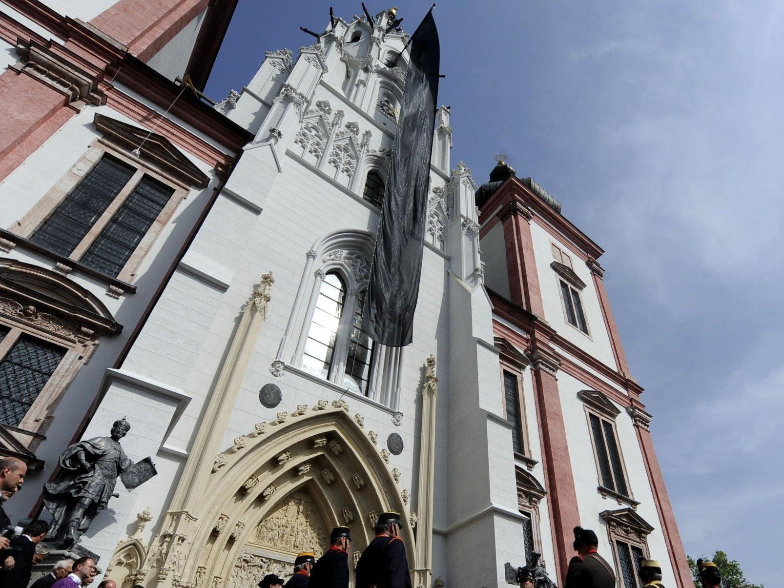 Wird möglicherweise kurzfristig zu arabischem Besitz - die Basilika in Mariazell.