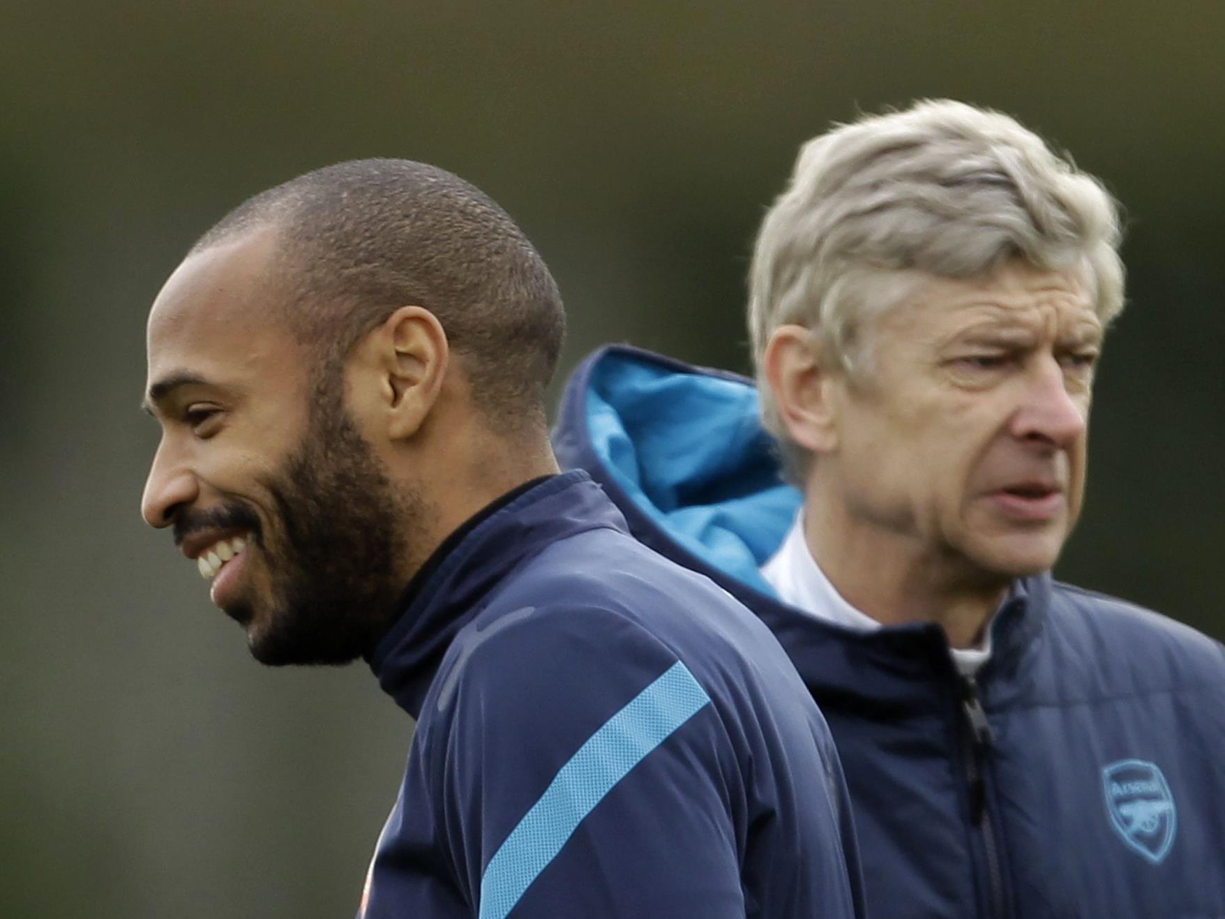 Thierry Henry spielt sein letztes Spiel für Arsenal vor seiner Rückkehr zu Red Bull New York.